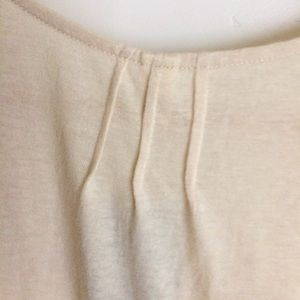 Anthropologie Tops - Anthropologie Tiny Ivory Lace Front Top Sz L NWTS